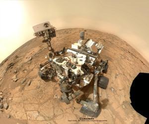 On Mars, Curiosity Rover Back at Work After 'Spring Break'