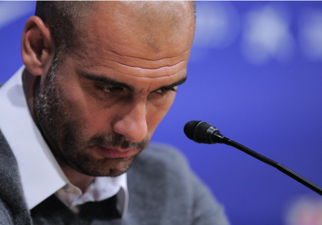 Barcelona's Coach Josep Guardiola Gives AFP/Getty Images