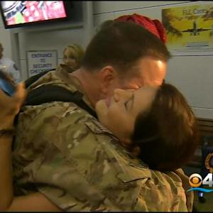 Ft. Lauderdale Firefighter Returns From Tour Of Duty In Afghanistan