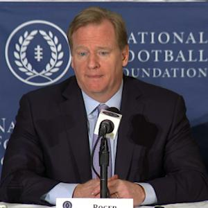 NFL Commissioner Roger Goodell: 'I think the game's best days are ahead'