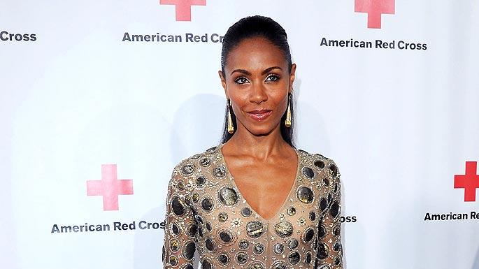 Smith Jada Pinkett Red Cross Red Tie