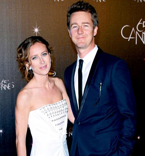 Edward Norton and Shauna Robertson Secretly Wed Before Son's Birth