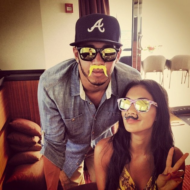 Celebrity Twitpics: Nicole Scherzinger and Lewis Hamilton quickly became one of our favourite celebrity couples of the year after her amazing performance as an X Factor judge. We especially loved them