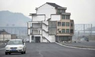 China: Road Built Around Couple's Home