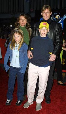 Premiere: Denis Leary and family at the New York premiere of Warner Brothers' Harry Potter and The Sorcerer's Stone - 11/11/2001