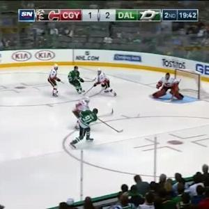 Jonas Hiller Save on Tyler Seguin (00:21/2nd)