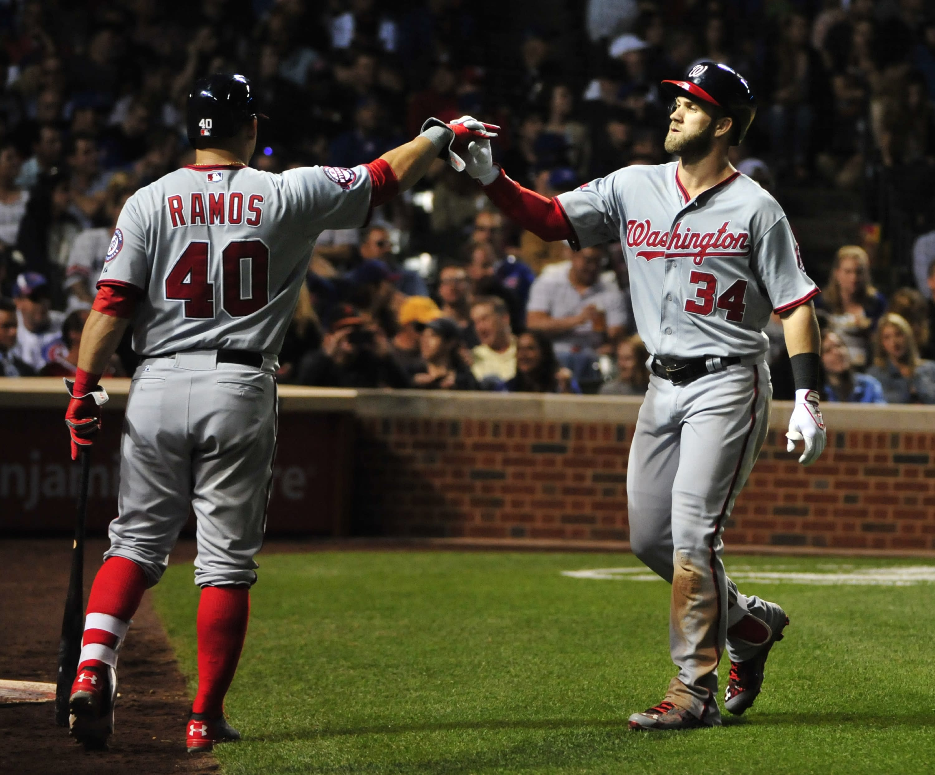 The Nationals are the odds on favorite to win the World Series — again