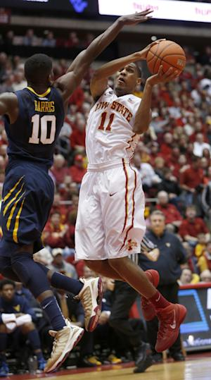 Iowa St freshman PG Morris on pace for NCAA mark
