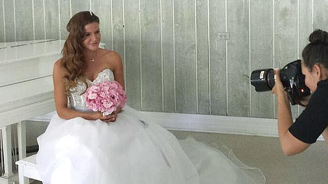 'Client List' Star Alicia Lagano Gets Married