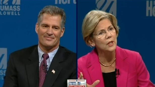 Scott Brown Got a Little Testy in His Debate with Elizabeth Warren