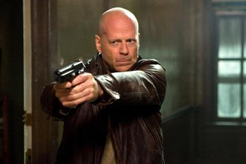 Bruce Willis as John McClane in 20th Century Fox's Live Free or Die Hard