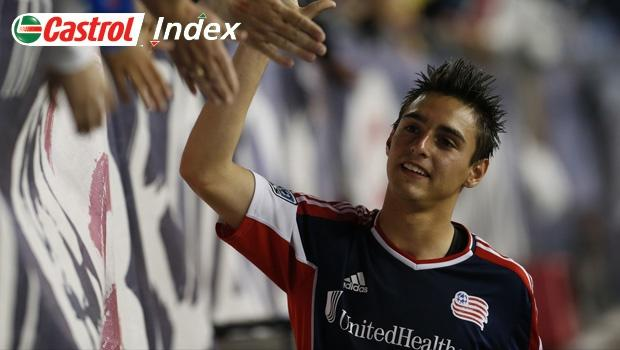 Castrol Index Weekly Top 20: New England Revolution's Diego Fagundez all grown up