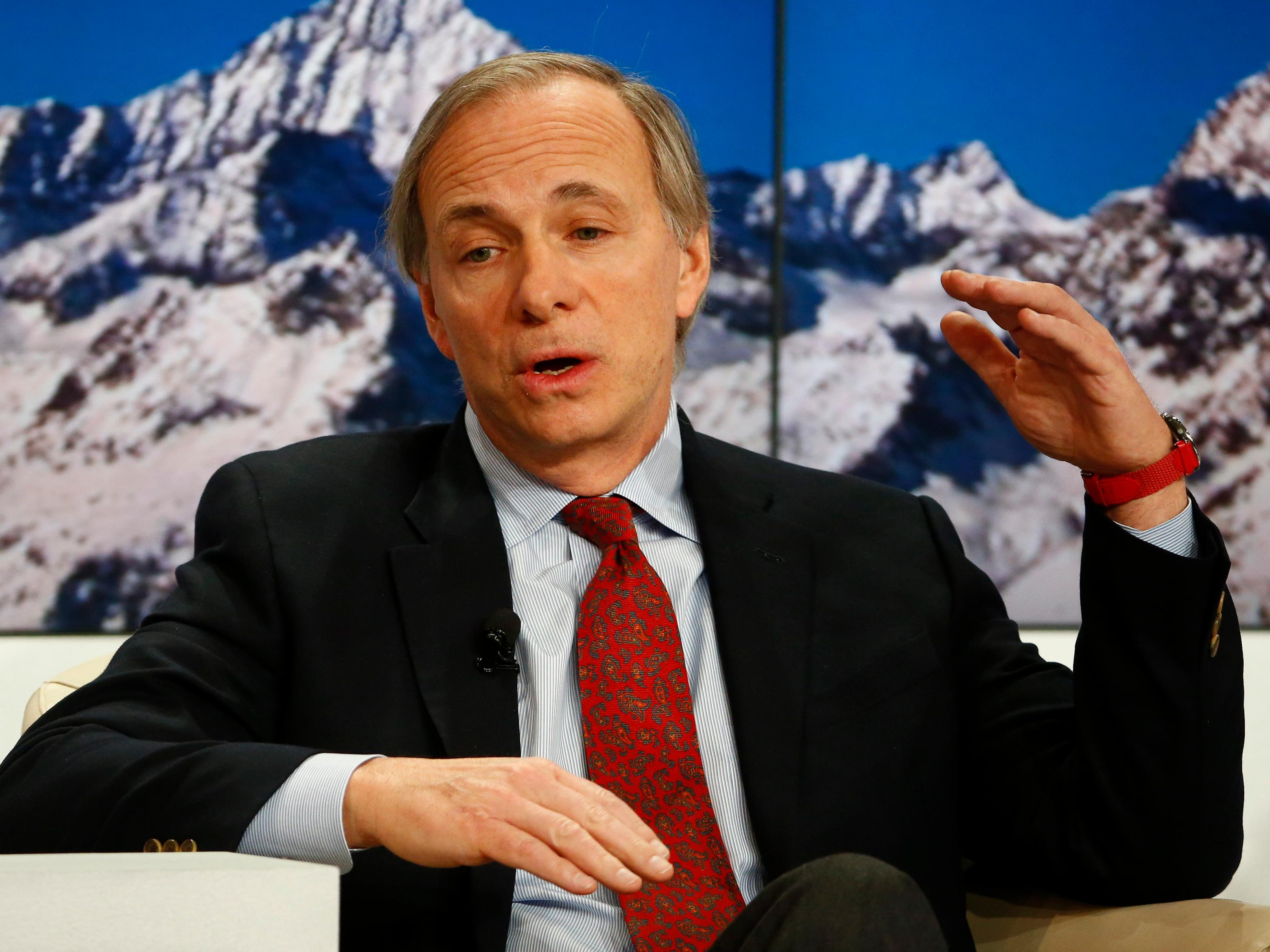 Ray Dalio's bizarre principles are being put to the ultimate test