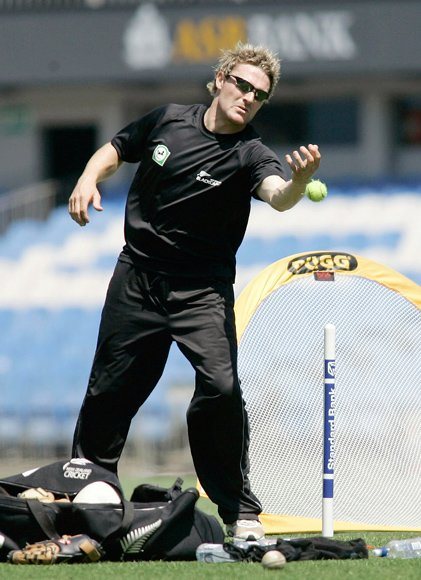 New Zealand Cricket Team Training