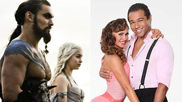 Drogo, Daenerys, Karina and Corbin -- HBO