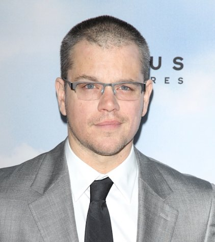 Matt Damon arrives at the Los Angeles premiere of &#39;Promised Land&#39; held at Directors Guild Of America in Los Angeles on December 6, 2012  -- Getty Premium