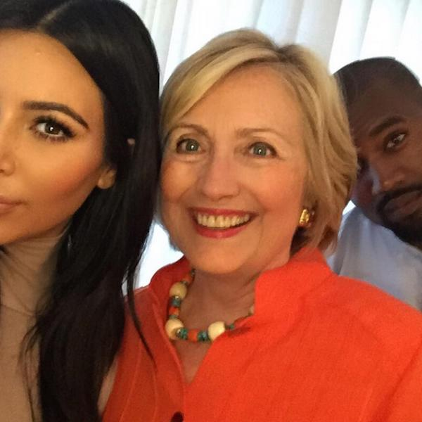 Hillary Clinton Wouldn't Rule Out Kanye West as Her Future Vice President