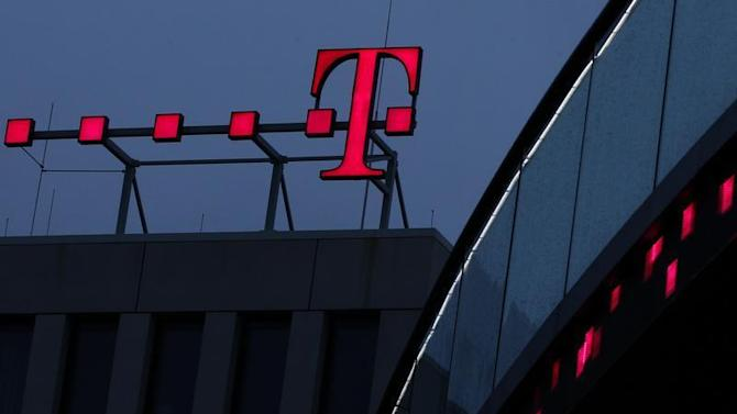 File photo of Deutsche Telekom AG logo at their headquarters in Bonn