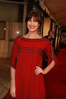 Sarah Lancaster at the Los Angeles premiere of New Line Cinema's Over Her Dead Body