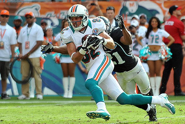 Miami Dolphins Over/Under: Brian Hartline