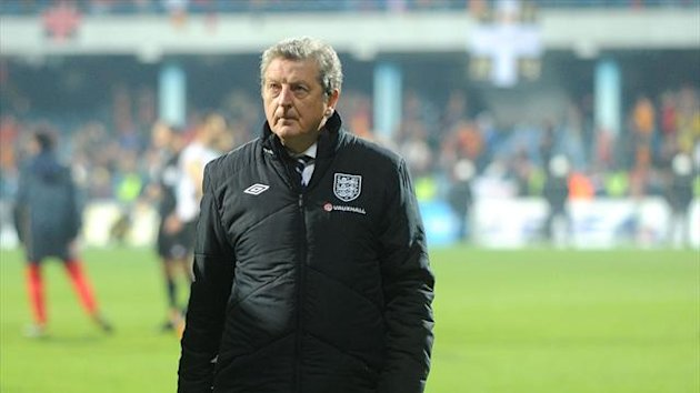 Roy Hodgson's England are two points off leaders Montenegro