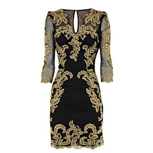Baroque Mesh Dress by Karen Millen