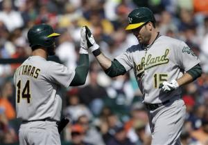 A's avoid sweep in Detroit, but lose LHP Anderson