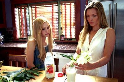 Alison Lohman and Michelle Pfeiffer in White Oleander