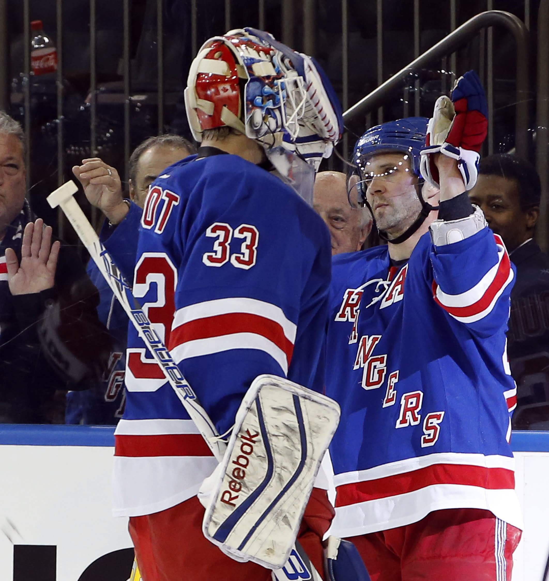 Rangers keep on winning without Lundqvist and Nash