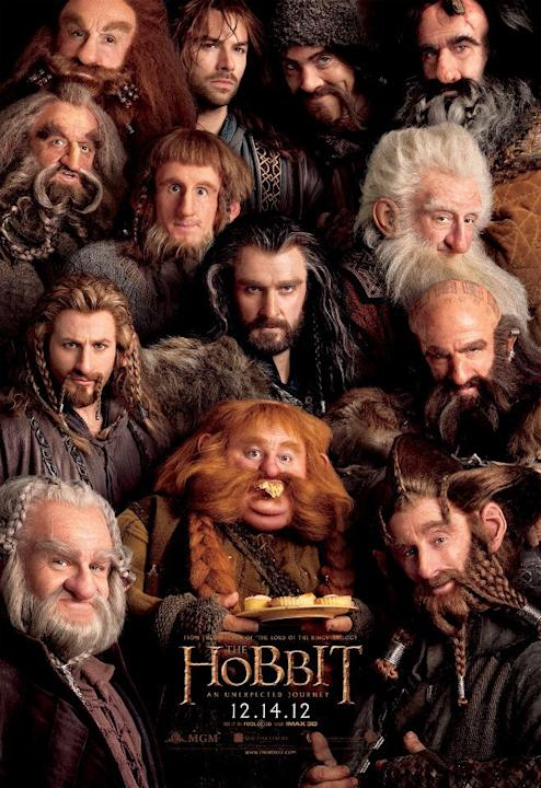 Meet the merry dwarves from The Hobbit
