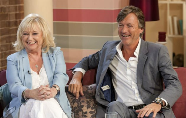 Richard and Judy... revisit the This Morning sofa (Copyright: Rex)