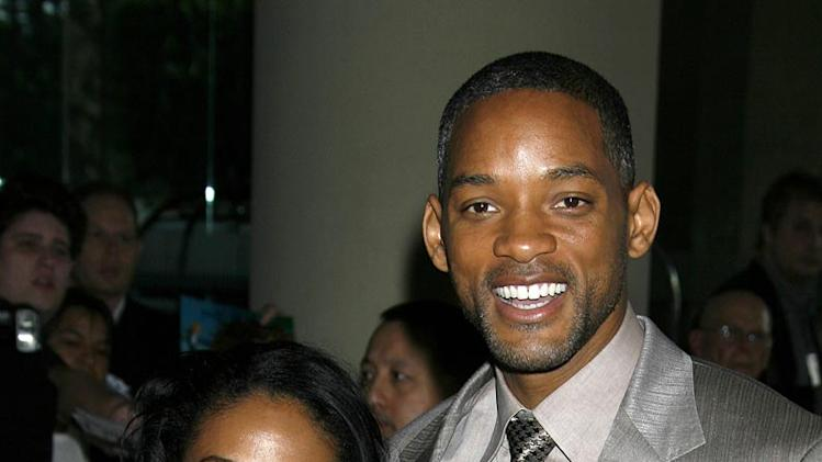 Jada Pinkett Smith and Will Smith, nominee Best Actor in a Leading Role for ìThe Pursuit of Happynessî The 79th Annual Academy Awards - Nominees Luncheon.