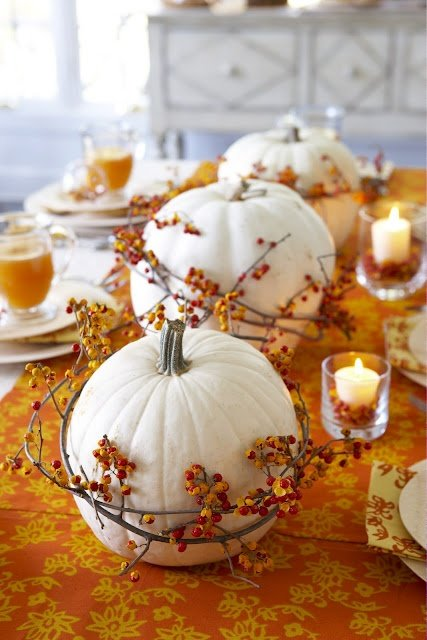 Pumpkin Tablescapes