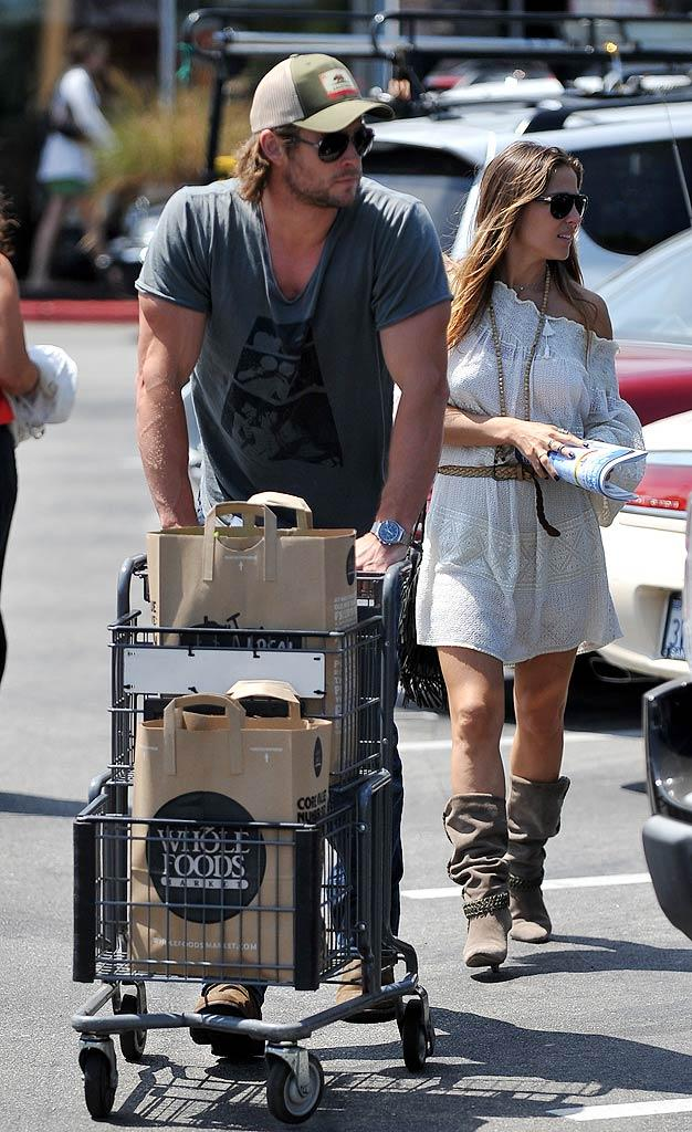 Chris Hemsworth Whole Foods