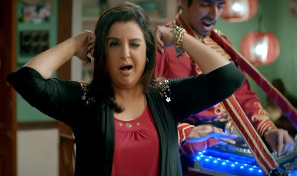 Dance in IPL with Farha Khan