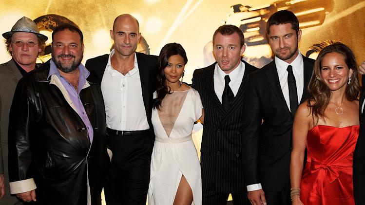 RocknRolla Premiere UK 2008 Geoff Bell Joel Silver Mark Strong Thandie Newton Guy Richie Gerard Butler Susan Downey