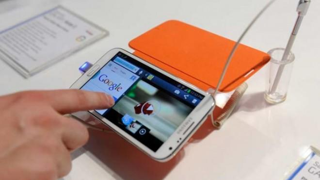 The bigger the better? The oversized Samsung Galaxy Note II has been a massive success.