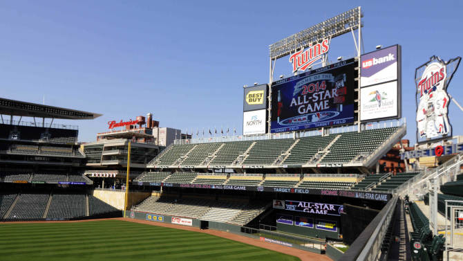 Target Field is ready for its All-Star close-up
