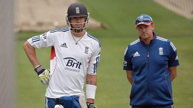 England coach Andy Flower, right, has denied reports he has issued an ultimatum to the ECB over the continuing presence of certain individuals in the set-up.