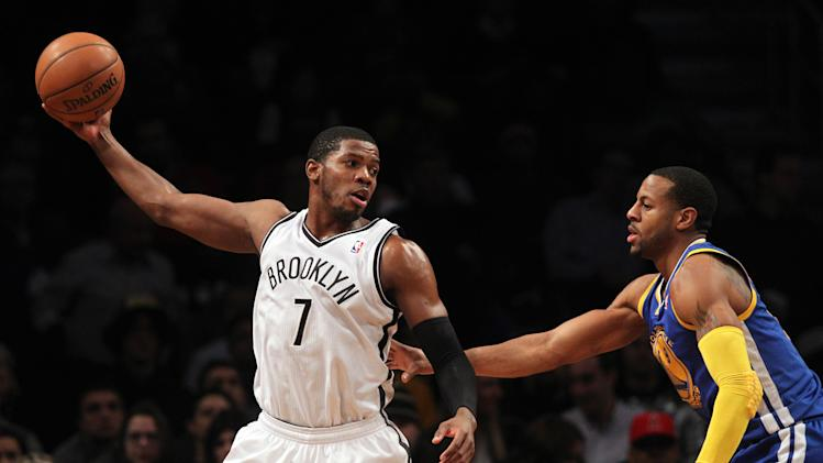 NBA: Golden State Warriors at Brooklyn Nets