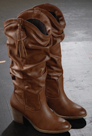 Boots -- it's time to pull on a pair!