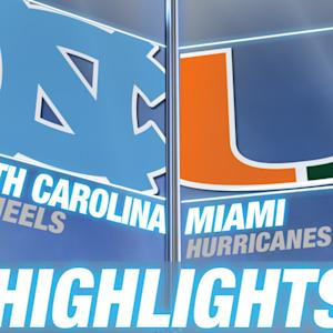 North Carolina vs Miami | 2014-15 ACC Women's Basketball Highlights