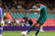 We can beat anyone, says Mexico striker Peralta ahead of Olympic final