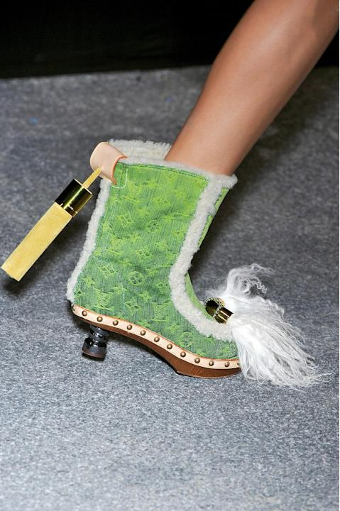 Louis Vuitton Daisy Half-Boots in Monogram Denim, S/S 2010