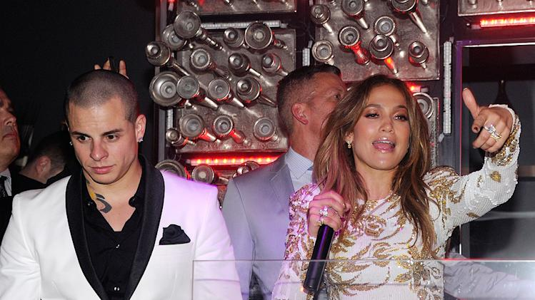 Jennifer Lopez Casper Smart'