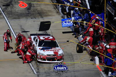 NASCAR penalizes Ryan Newman, Richard Childress Racing for illegal tires