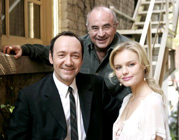 Kevin Spacey, Bob Hoskins and Kate Bosworth 2004 Toronto International Film Festival - Beyond the Sea Portraits