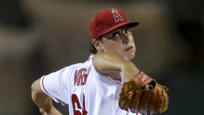 Angels' Vargas beats A's 3-0 for 5th shutout