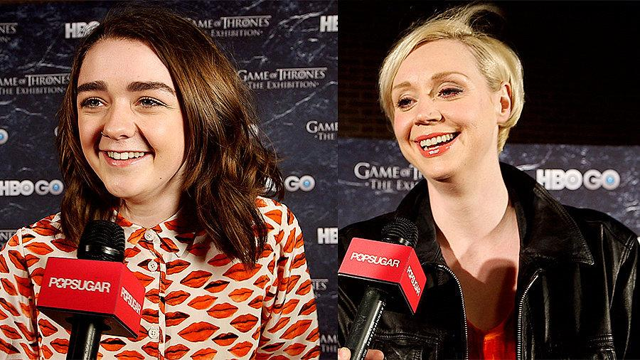 Get the Game of Thrones Spoilers We Squeezed Out of the Cast on POPSUGAR Live!