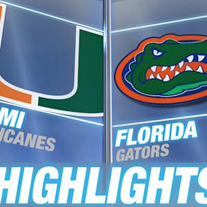 Miami vs Florida | 2014-15 ACC Men's Basketball Highlights